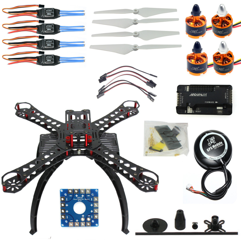 F14893-K DIY RC Drone Quadrocopter X4M380L Frame Kit APM 2.8 Flight Control GPS