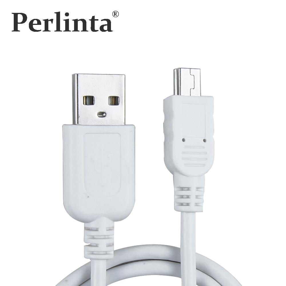 Perlinta Mini USB кабель, USB 2.0 Тип мужчина к Mini USB 5Pin мужской передачи данных и кабель для зарядки для MP3, MP4, GPS 1 м