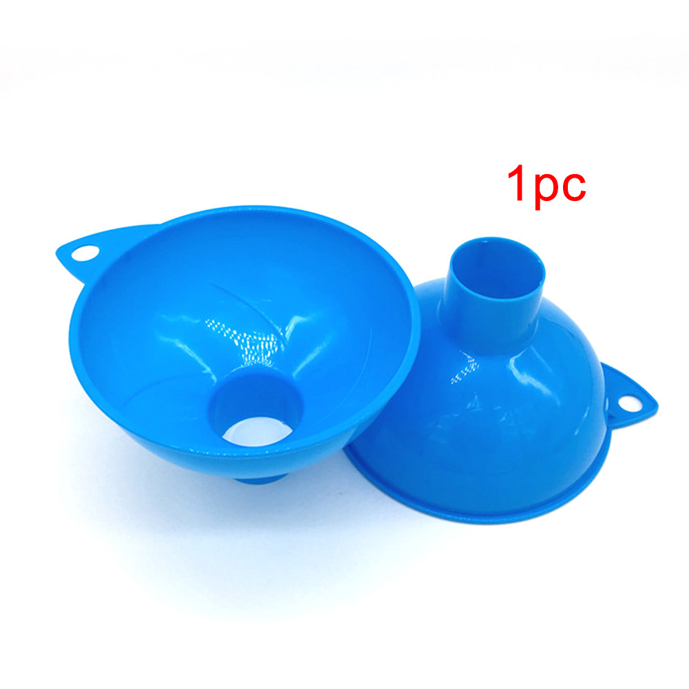 Wide Mouth Kitchen Gadgets Plastic Home Hopper Durable Reusable Oil Fuel Funnel
