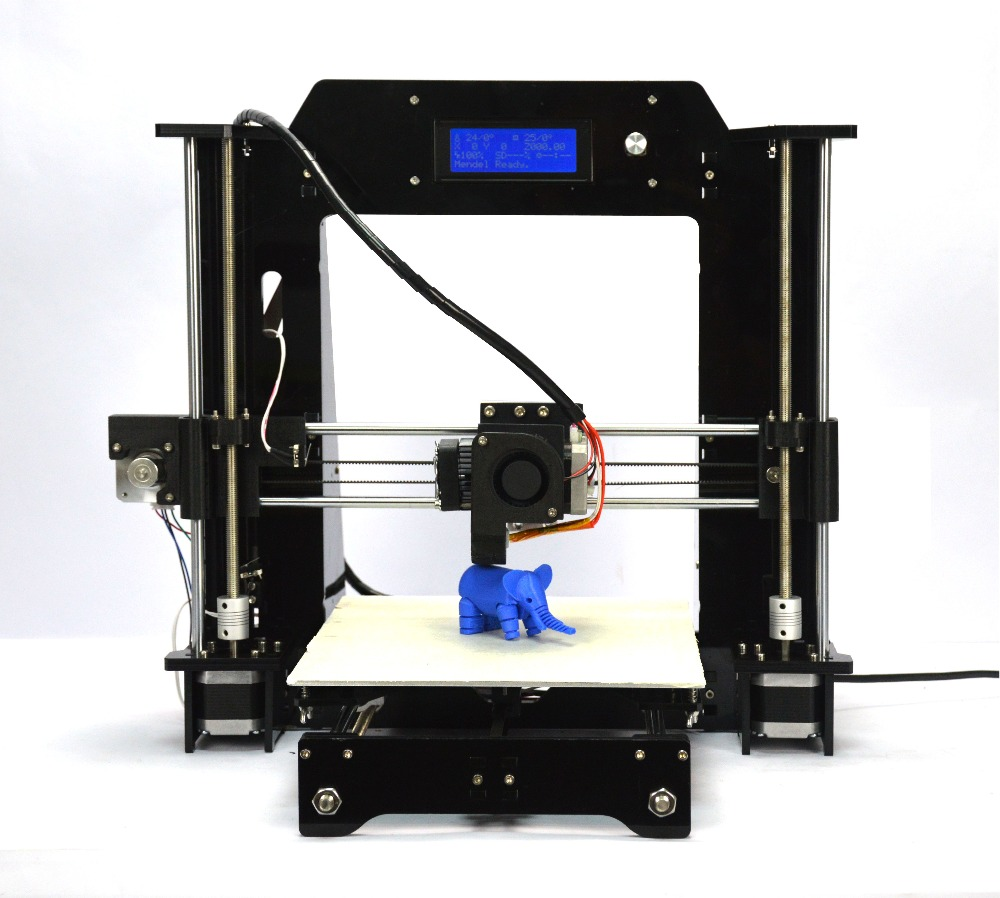HIC Prusa I3 3D Desktop Printer DIY High Accuracy CNC Self-assembly Tridimensional 270*210*200cm printing size
