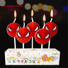 first birthday spiderman cake candle children kids party decorating supplies spider man candles for cakes