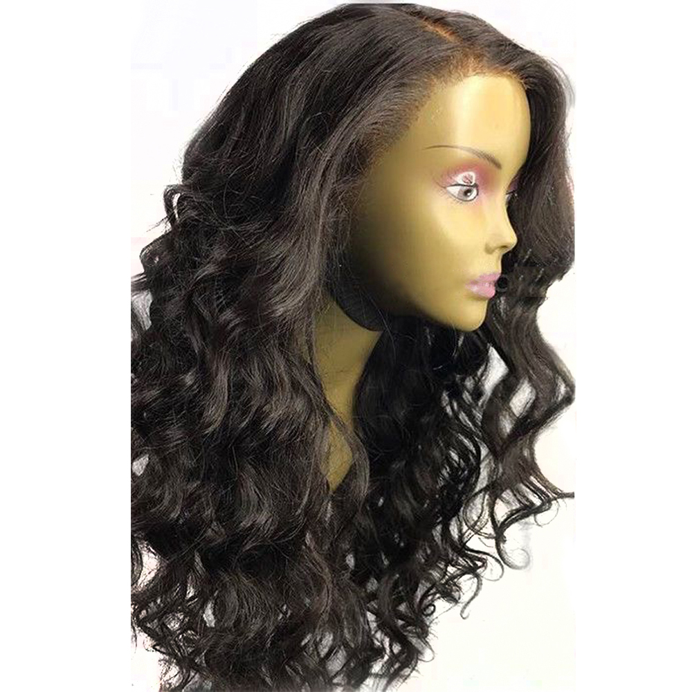 Eversilky Pre Plucked Full Lace Human Hair Wigs For Women Body Wave Natural Color Brazilian Remy Hair Wig with Baby Hair-in Full Lace Wigs from Hair Extensions & Wigs    3