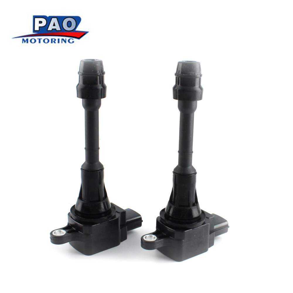 AA-3356-4 Coils Standard-Ignition NISSAN Altima/sentra New 2PCS Black Fits-For