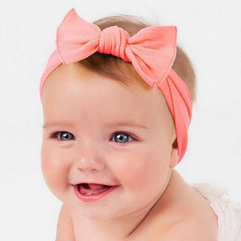1pcs kosa lukovi novorođen cvijet traka za glavu protežu turban - Pribor za odjeću - Foto 2