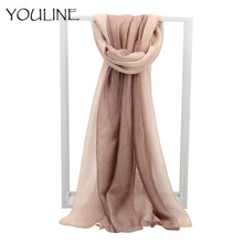 YOULINE 2018 Spring Autumn Winter Iatest Fashion Models Women Scarf Necessary Modal Classic Silk Scarves Free Shipping AS74 free shipping 380mm central distance 150mm stroke 30 to 500n force pneumatic auto gas spring lift prop gas spring damper