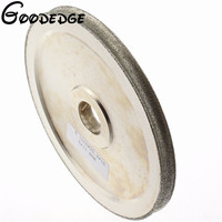 6 Inch Grit 80 Lapidary Concave Arc Grind Spherical 10 Mm Diamond Coated Grinding Wheel