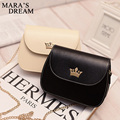 Mara's Dream 2017 Leather Women Messenger Bag Chain Imperial Crown Candy Color Cover Handbag Crossbody Small Flap Shoulder Bag