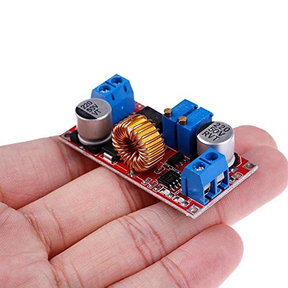Original XL4015 E1 5A DC to DC CC CV Lithium Battery Step down Charging Board Led Power Converter Lithium Charger Module-in Integrated Circuits from Electronic Components & Supplies