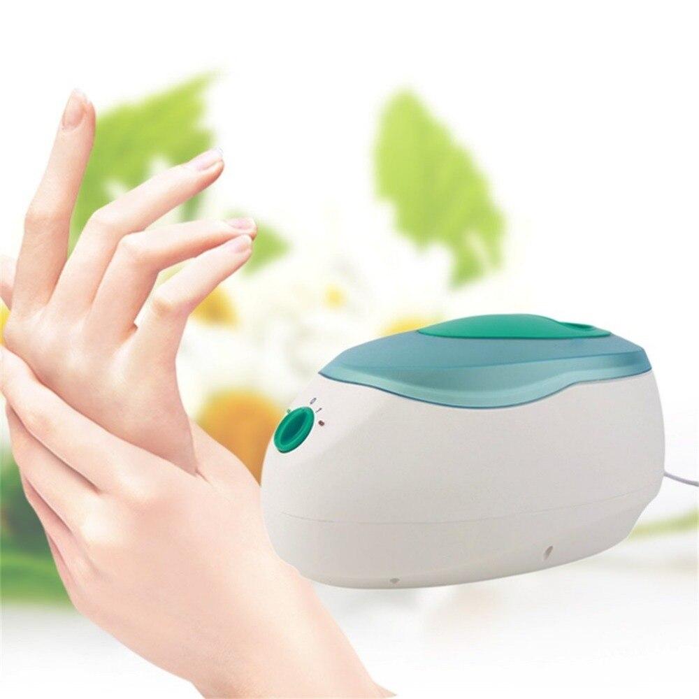 2018Wax Machine Paraffin Therapy Bath Waxing Pot Warmer Beauty Salon Equipment Spa 200W 2 Level Control Machines EU Plug Green