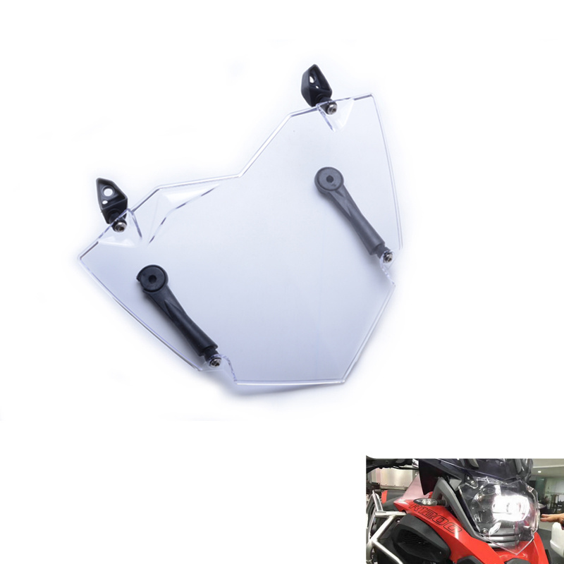 Headlight Cover For BMW R1200GS WC 13- ADV WC 14- Transparent R1200GS Headlight Guard Headlight Protector R1200GS LC ADVENTURE Фара