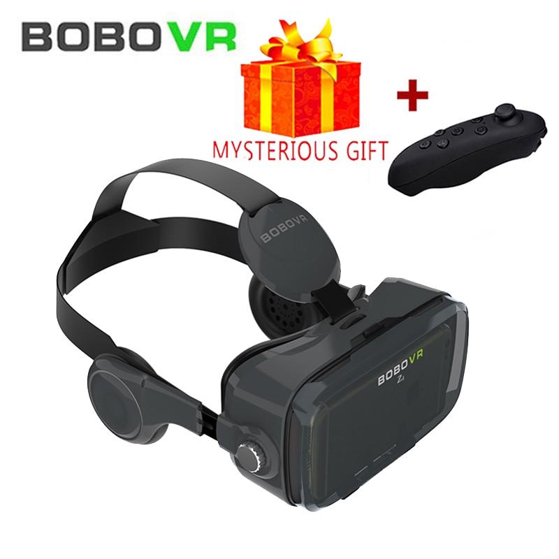 Bobovr Z4 Casque VR Headset Helmet 3D Glasses Virtual Reality Glasses 3D VR glasses Cardboard VR 3D Headset for Android and iOS