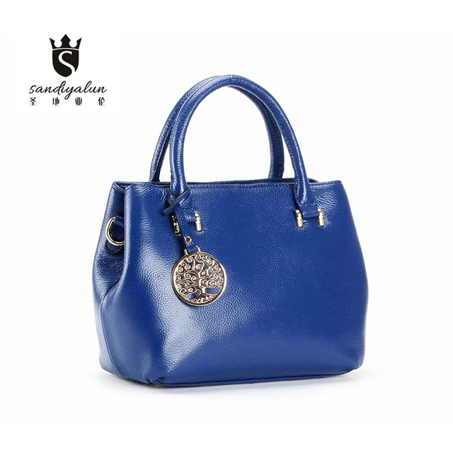 Genuine Leather Women Handbag Fashion Women Shoulder Bag High Quality Women Messenger Bag Female Tote Bag