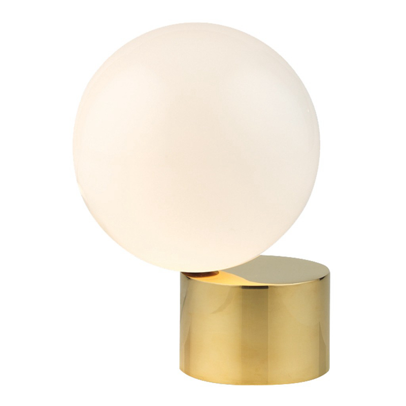 Decorative LED table light white Post modern desk lamp for bedroom study.room simple home office decoration gold table light