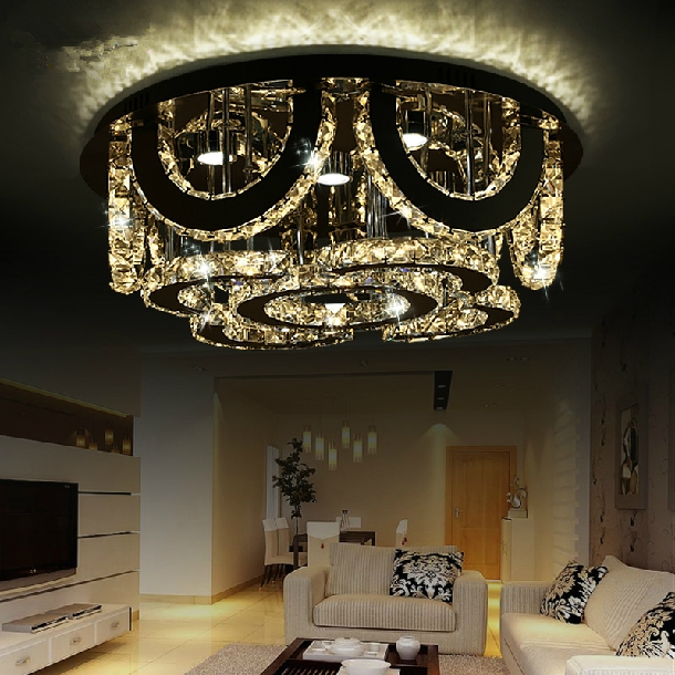 Beautiful Luxury Lamp Small Round Led Crystal Ceiling Lights Living Room Lamps Study  Small Bedroom Crystal Lamp Upscale Atmosphere In Ceiling Lights From Lights  ...