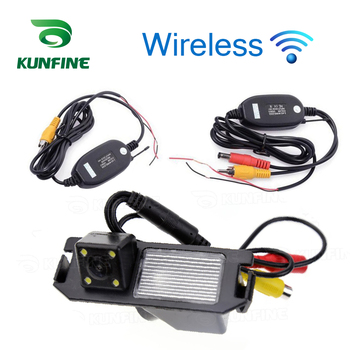 HD Wireless Car Rear View Camera For Kia Soul 2010 2012 Parking Assistance Camera Night Vision LED Light Waterproof