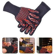 1 шт. термостойкие перчатки для барбекю, духовки, анти-ожоги, держатель для горшка, кухонный инструмент для приготовления пищи, горячая