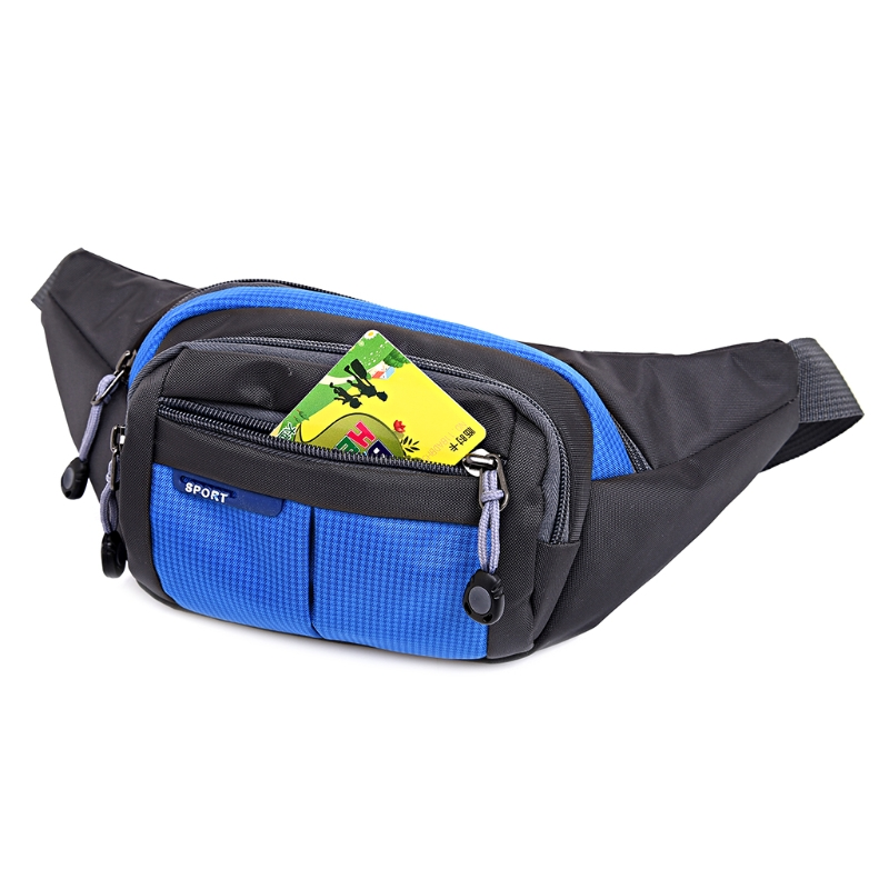 Women Men Outdoor Bum Bag Fanny Pack Waist Bag Sports Running Belt Bag