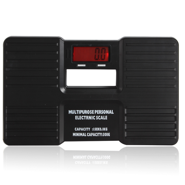 LCD Digital Electronic Personal Scale On/Tare Function Low Battery Alarm Body Weight Electronic Scales Floor Scales
