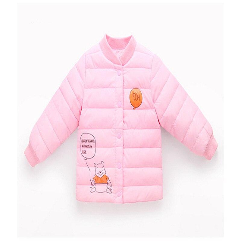 Girls outerwear winter/autumn 2017 baby ultra light boys down jacket for girls white down parkas down winter warm children coat baby winter outerwear