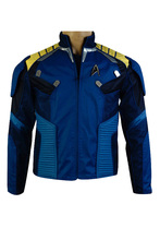 Star Trek Beyond Captain Kirk Commander Battle Suit Cosplay Costume For Adult Men Jacket Only