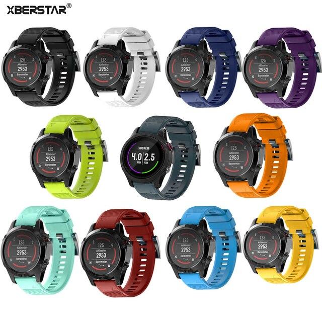 Vervanging Siliconen Smartwatch Strap Band voor Garmin Fenix 5 Fenix5 voor Garmin Forerunner 935 GPS Horloge Quick Release Horlogeband