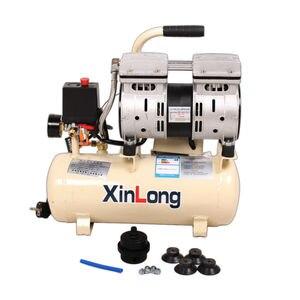 Air Compressor Quiet Oil Free 550W 1380r/min 8L For Autoclave Bubble Remove Machine And OCA Vacuum Laminating Machine(China)