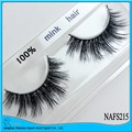 UPS Free Shipping 2016 newest hot sell AFM005 1000pairs/lot mink eyelashes  / 100% Real Mink Strip Lashes,False eyelash