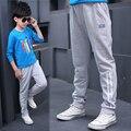 2016 осень новых детских случайные штаны Корейской версии большой мальчик штаны талии брюки