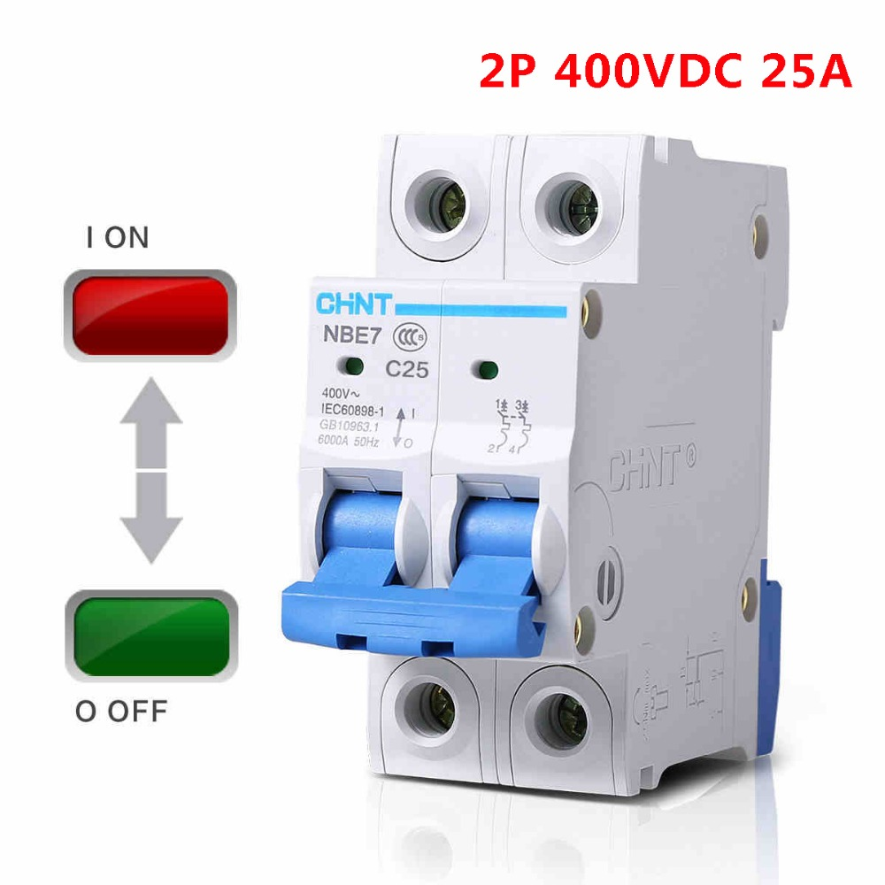 2p Dc400v 25a Pv Mini Dc Circuit Breaker Isolator Air In Wiring A 3 Pole Fan Switch Breakers From Home Improvement On Alibaba Group