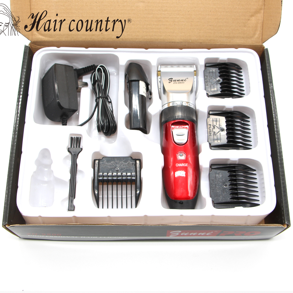 Hair Country Real Moser Profession Waterproof Electric Hair Clipper Ceramic Titanium Blade Trimmer Cutting Machine 100