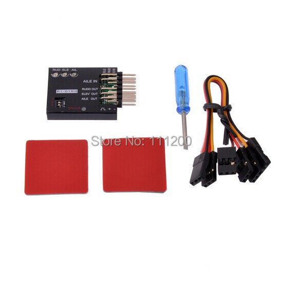 P1-GYRO 3-Axis Flight Controller Stabilizer System Gyro For Fixed Flying Wing Airplane FPV