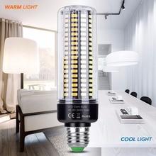 Светодиодная лампа bombilas E14 220 В, светодиодная лампа Кукуруза E27, умная IC лампа SMD 5736, энергосберегающий светильник, лампа 28, 40, 72, 108, 132, 156, 189 светодиодов, 110 В