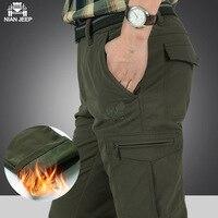 Winter Brand Pants Men Outdoor Ski Hiking Softshell Pants Men Women Windproof Waterproof Thermal For Zipper