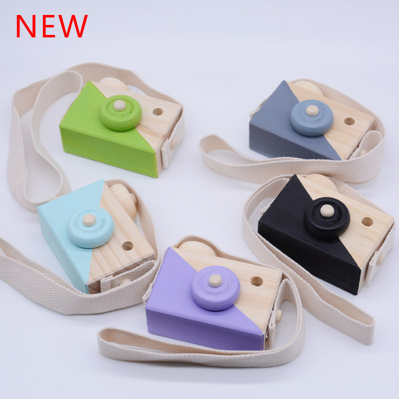Nordic Mini Wooden Camera Toys Safe Natural for Baby Kids Clothing Mini Wooden Camera Toys Safe Natural for Baby Best Gifts For