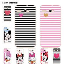 I am alone Cases For Micromax Bolt D303 D320 Q324 Q346 Q383 Q414 Q392 Q4251 Q450 Q380 E313 AQ5001 Bags Shipping Free(China)