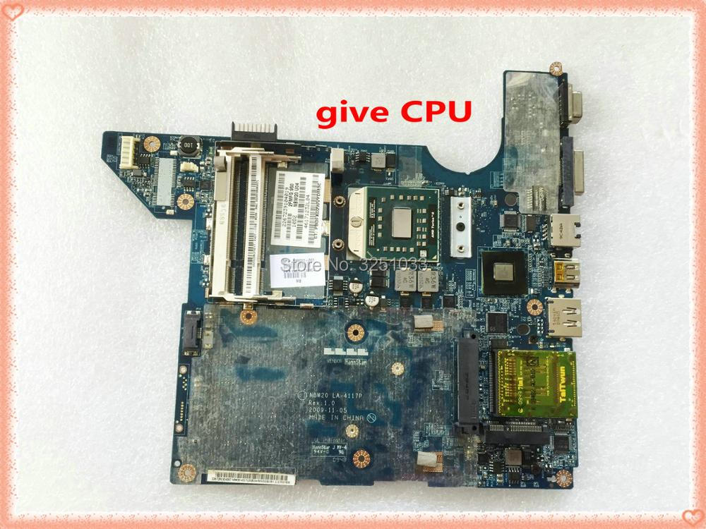 For HP DV4 Dv4-2145dx NOTEBOOK NBW20 LA-4117P 598091-001 Dv4-2112br DV4-2120CA NOTEBOOK Motherboard All Functional Tested Ok
