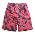 2016 Quick-drying Camouflage beach board shorts summer male loose casual shorts knee-length shorts,plus size:S,M,L,XL,2XL,3XL