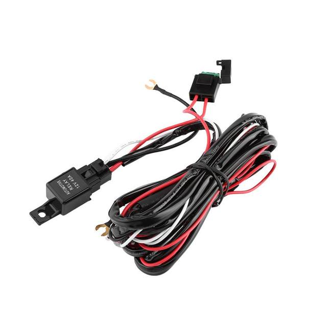 Online Shop Auto On/Off Laser Rocker Switch Wiring Harness 40A Relay ...