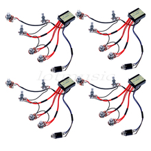 4Sets Belcat Active EQ Active EQ-B3T Preamp Circuit Wiring Harness Parts For Bass Guitar Replaceemnt