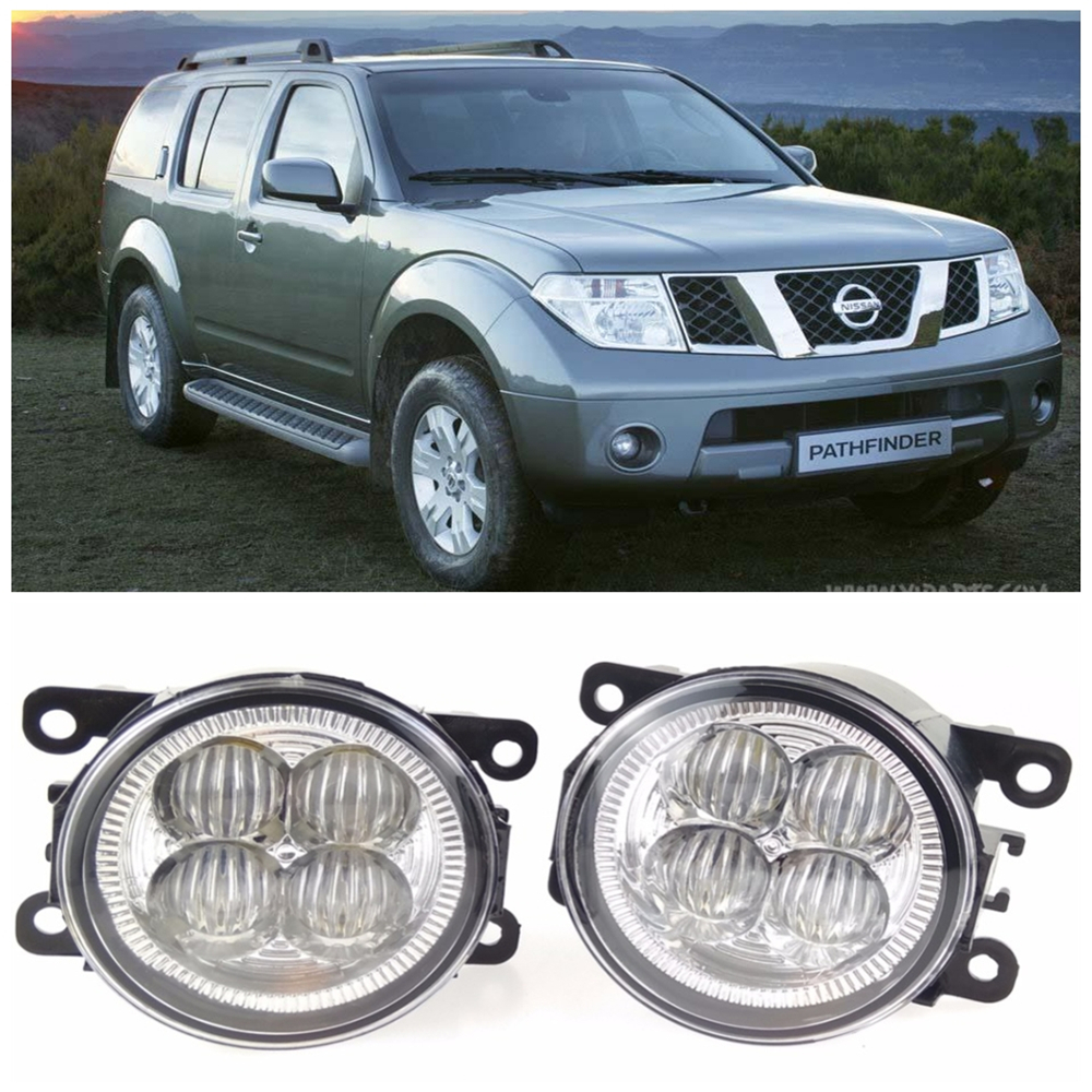 For NISSAN Pathfinder Closed Off-Road Vehicle R51  2005-2015 10W High power high brightness LED set lights lens fog lamps high grade crystal handles wardrobe door cabinet knobs furniture closet drawer hardware small modern kitchen pull and handle