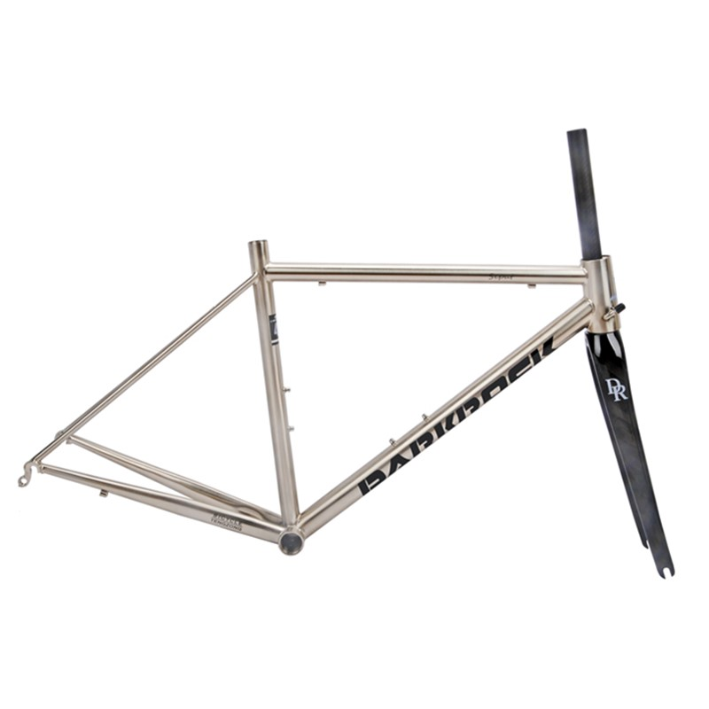 DARKROCK Road-Bike-Frameset Bicycle Carbon-Fork CR-MO 4135-Steel Classic 700C Sepat Highway