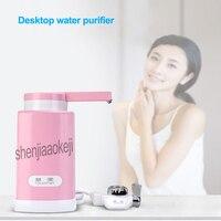 المنزلية سطح المكتب منقي مياه المطبخ صنبور منقي مياه QY-303 منقي مياه لا الكهرباء 0.07-0.35mpa