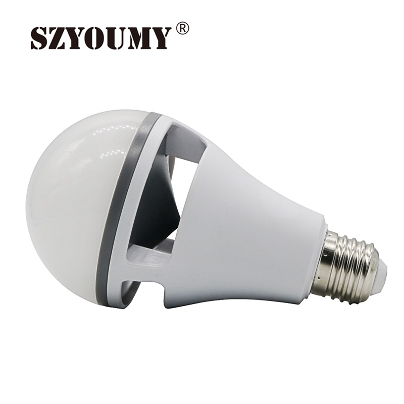 SZYOUMY 5 Pieces B22 E27 RGBW Led Light Bulb Bluetooth 4.0 Smart Lighting Lamp Color Change Dimmable AC110-240V for Home Hotel szyoumy e27 rgbw led light bulb bluetooth speaker 4 0 smart lighting lamp for home decoration lampada led music playing