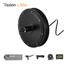 PASION E BIKE Set 48V 1500W Hub Motor Electric Bike Rear Wheel Motor & Electric Components Electric Bike Kit Rear Motor 1500W(China)