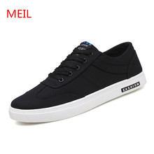 Spring Summer Mens Shoes Flat Casual Canvas Shoes Men Lace-Up Brand Fashion Breathable Outdoor Flats shoes man chaussure homme mycolen hot spring autumn high quality men casual shoes fashion brand soft breathable lace up male shoes chaussure homme cuir