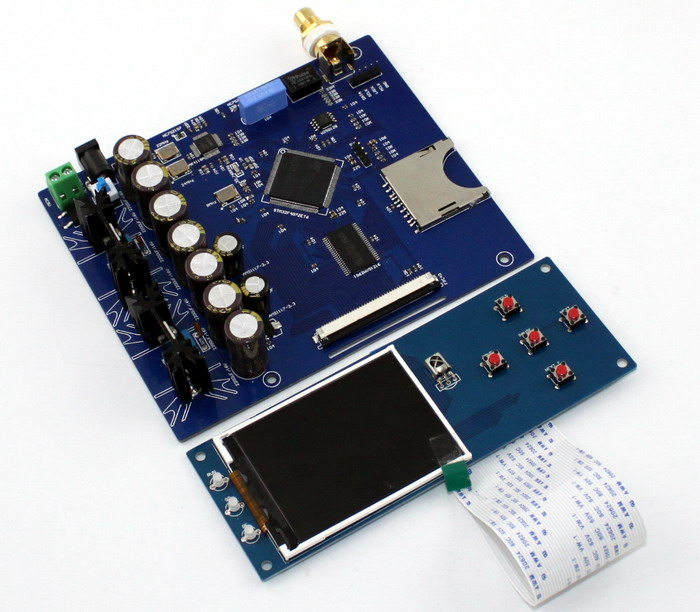 SD(STM32F407ZET6 + AK4118) lossless luxury digital DAC amplifier board кухонная мойка ukinox stm 800 600 20 6