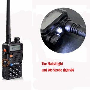 Image 5 - アップグレード Baofeng Uv 5R バッテリー 2800mah HT Woki 土岐ラジオ 10 キロ長距離 Communicator 無線警察スキャナ SB トランシーバ