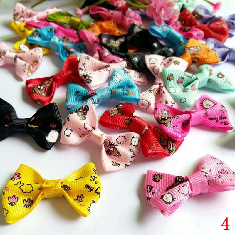 Arts,crafts & Sewing Audacious 40pcs Mixed Baby Satin Ribbon Bowknot Hair Clips Applique Diy Craft Wedding Bow Tie Ribbon Bowtie Hats Decoration