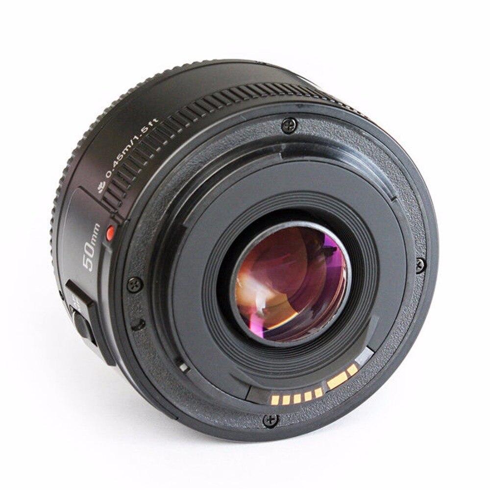 Objectif YONGNUO YN EF 50mm f/1.8 AF à ouverture automatique objectif YN50mm f1.8 pour appareils photo reflex numériques Canon EOS - 3