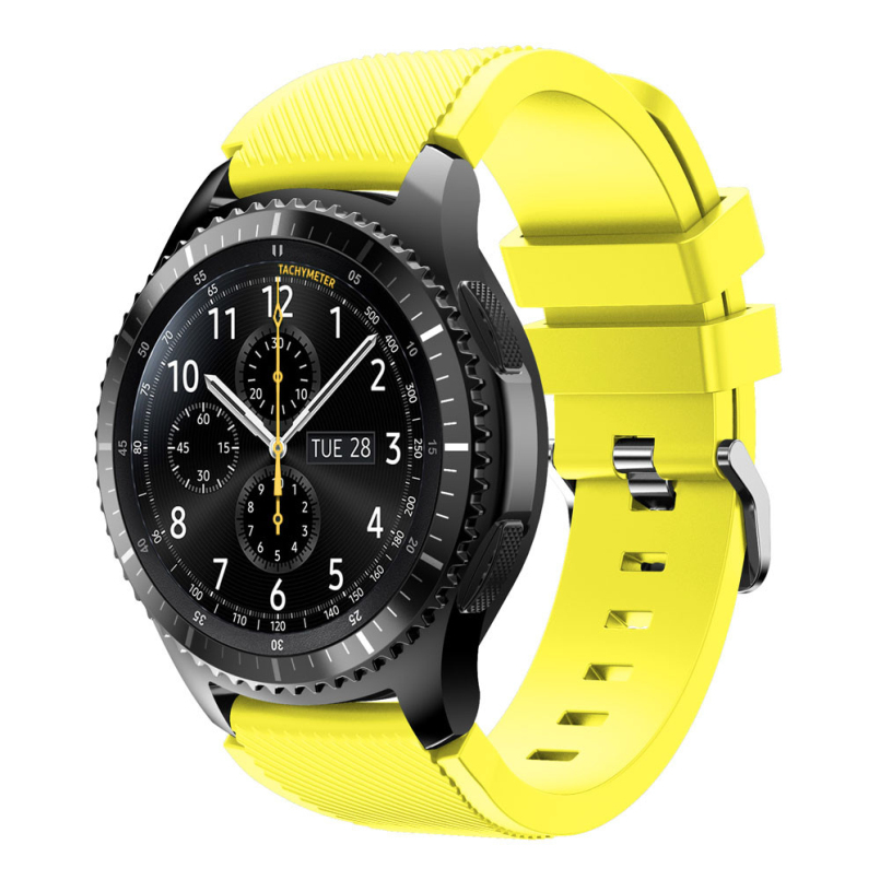 Excellent Quality New Fashion Sports Silicone Bracelet Watch Strap Band For Samsung Gear S3 Frontier Dec 01